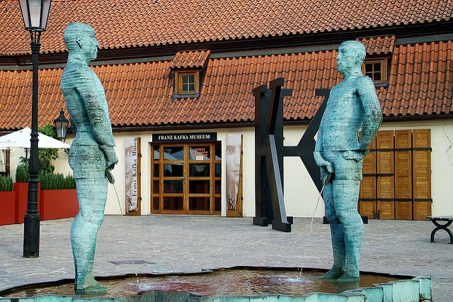 Museo Kafka de Praga