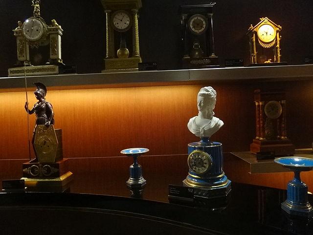 Relojes en el Palacio del Tiempo de Jerez de la Frontera