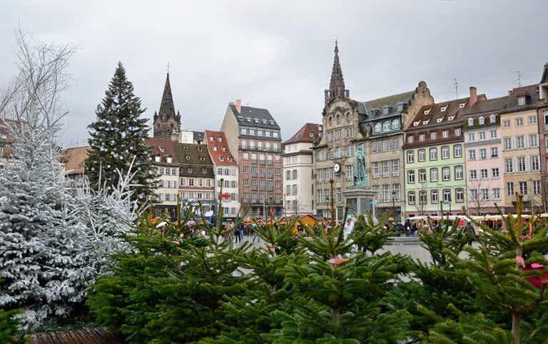 El mercado navideño de Estrasburgo, la capital de la Navidad