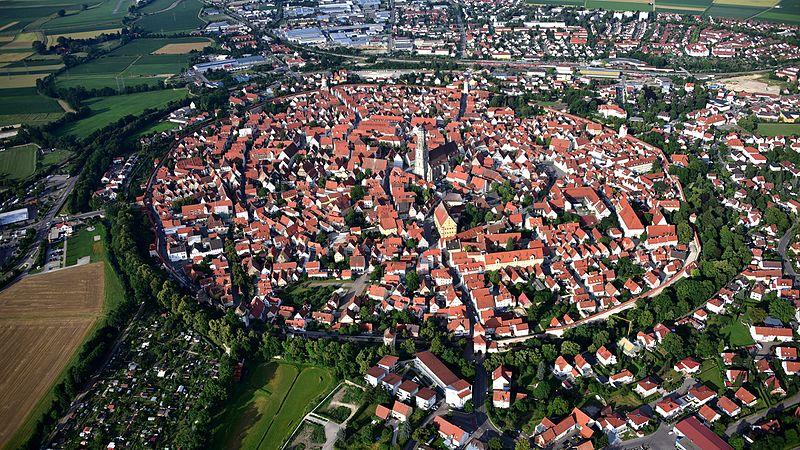 Nordlingen en Alemania