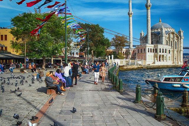 Ortakoy, uno de los barrios de Estambul
