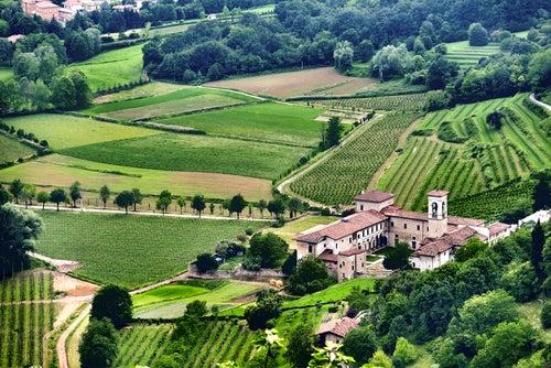 Paisaje de Lombardía