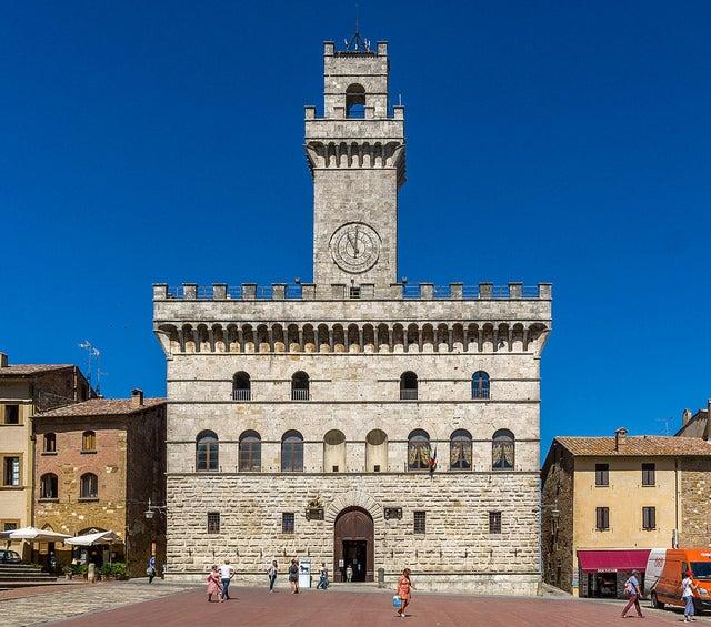 Palacio Comunal de Montepulciano