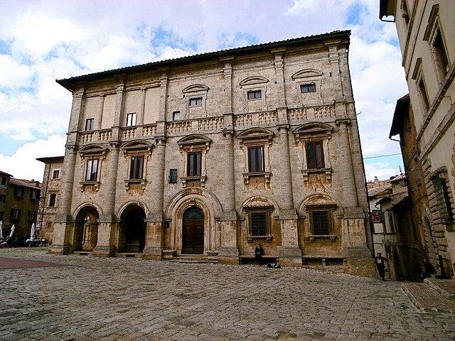 Palacio Nobili en Montepulciano
