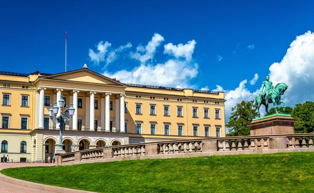 Palacio Real de Oslo, la capital de Noruega