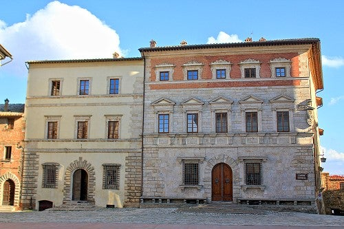 Palazzo Contucci en Montepulciano