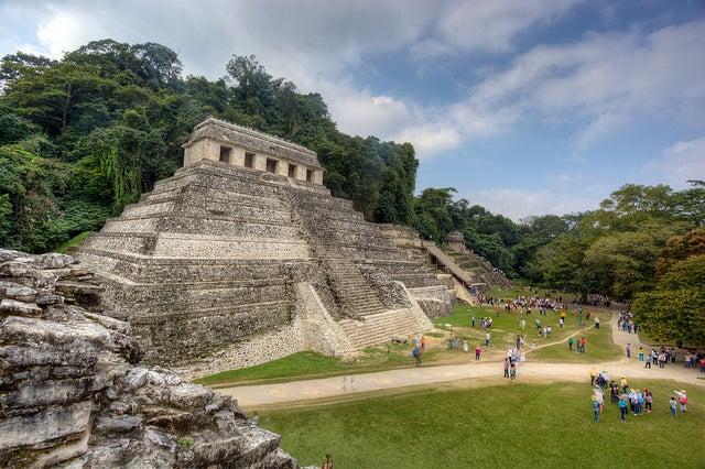 Pirámide de Palenque