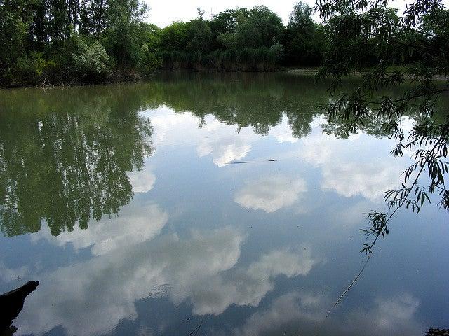 Parco del Rio Vallone en el camino a Bérgamo desde Milán