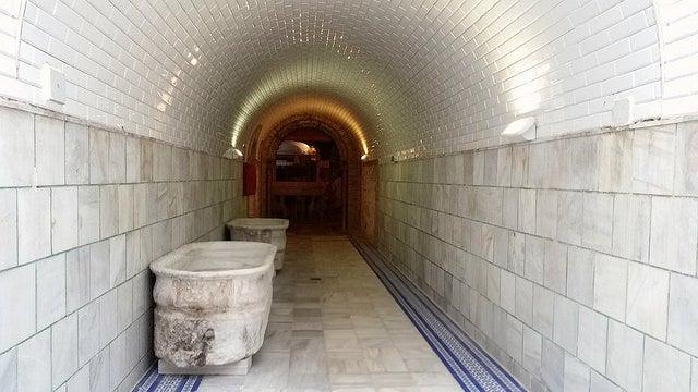 Pasillo del Balneario de Archena