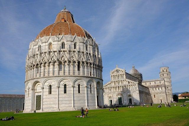 Piazza dei Miracoli, una de las cosas que ver en Pisa