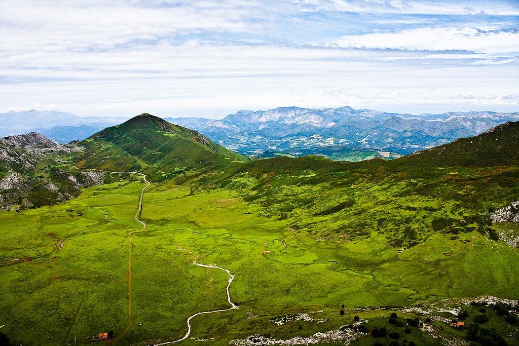 Mapa de Asturias, Picos de Europa