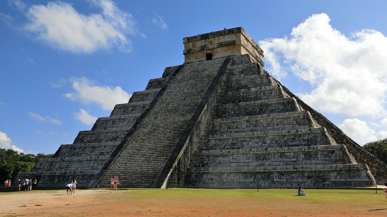 Pirámide en Chichén Itzá