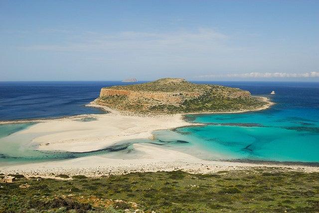 Playa de Balos en Creta, Grecia