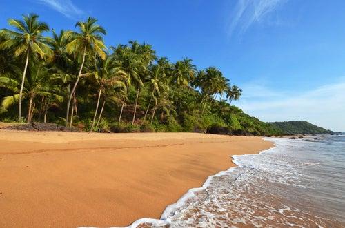 Playa de Goa, un lugar para que te enamores de la India