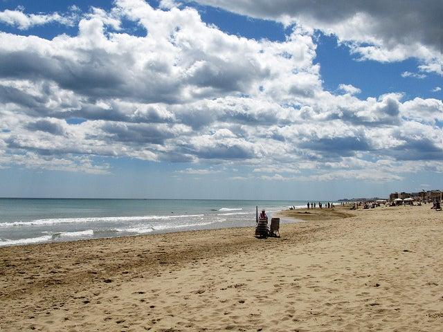 Playa de Guardamar del segura