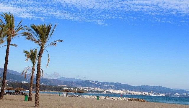 Playa en Puerto Banús
