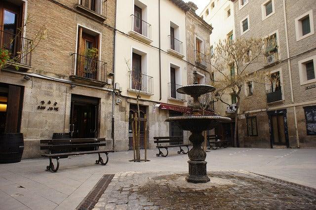 Plaza en Tudela