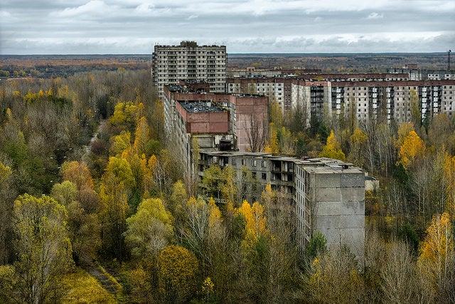 Pripyat, ciudad abandonada en Ucrania