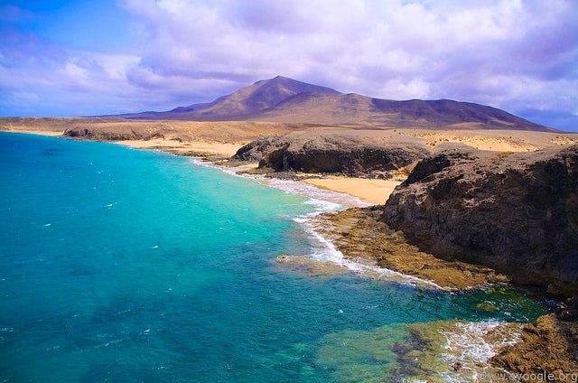 Punta Papagayo en Lanzarote