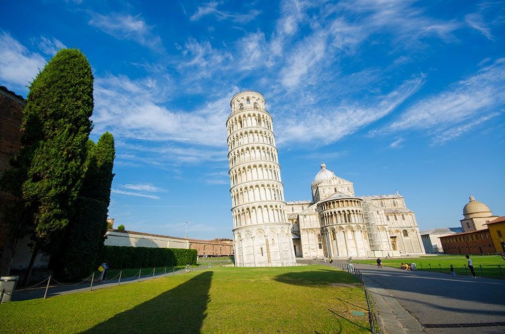 Pisa en la toscana italiana