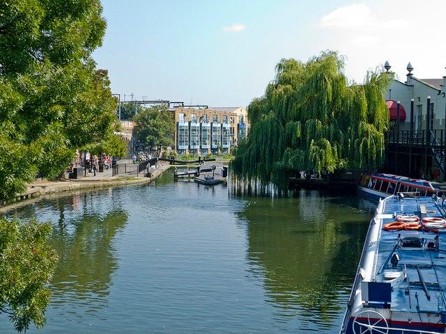 REgent's Canal en Candem Town