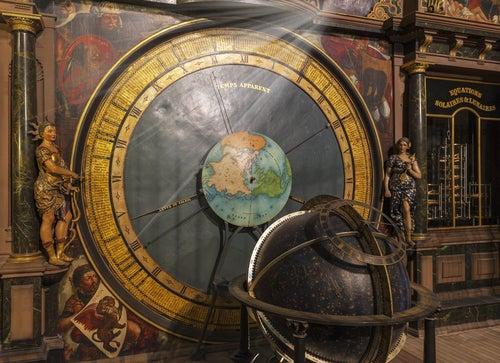 Reloj astronómico catedral de Estrasburgo