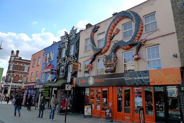 REstaurantes en Camden Town