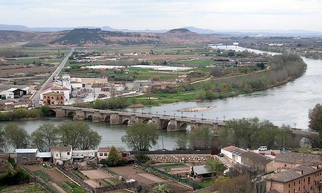 Río Ebro en Tudela