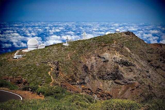 Roque de los Muchachos en La Palma un lugar para tocar el cielo