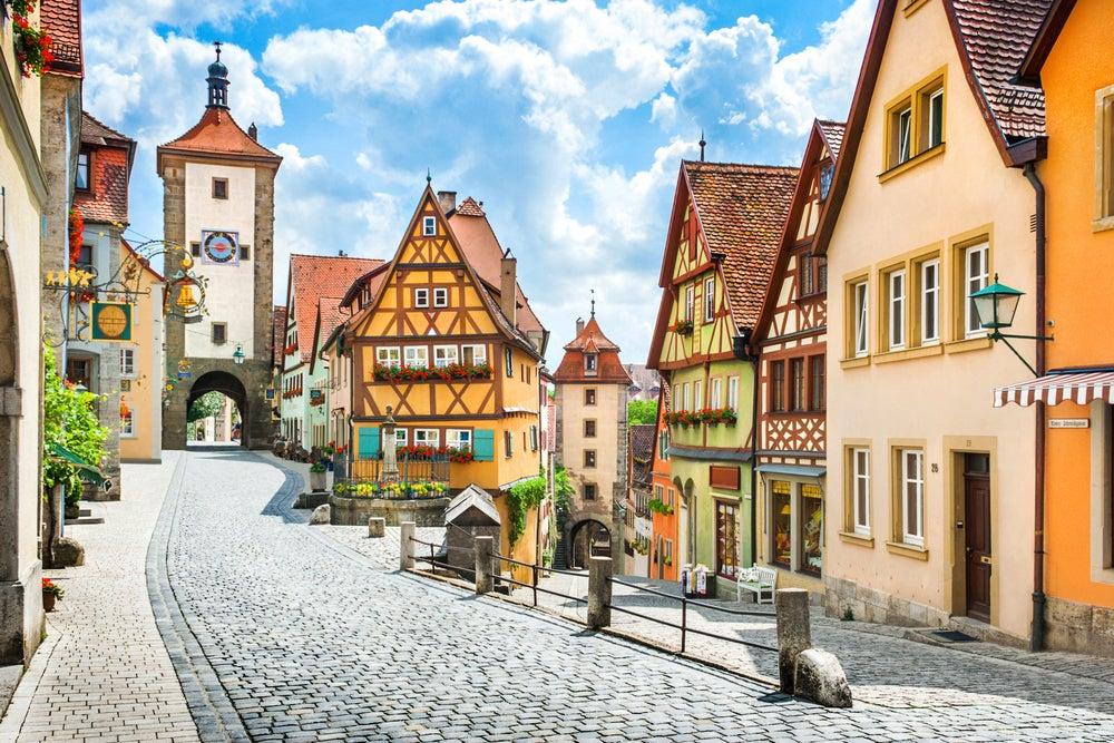 Rothenburg ob der Tauber, uno de los pueblos de Europa más bonitos