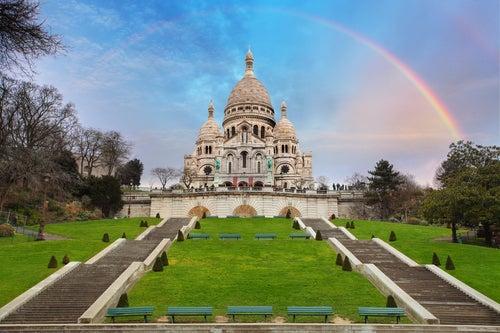 Sagrado Corazón en Montmartre, París