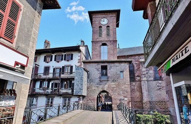 Saint Jean Pied de Port en el País Vasco Francés