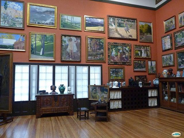 Sala del Museo Sorolla