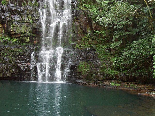 Salto de Cristal en Paraguay