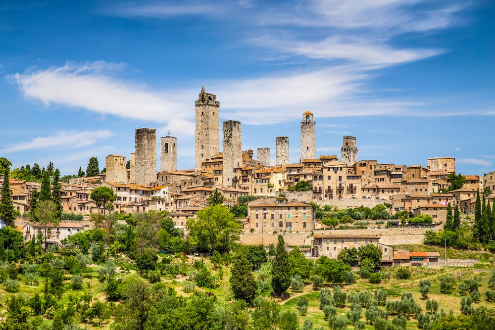 San Gimignano,uno de los pueblos de Europa más singulares