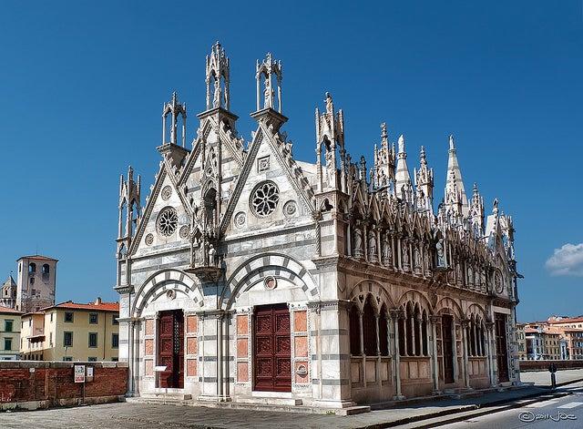 Santa Maria della Spina, una de las cosas que ver en Pisa