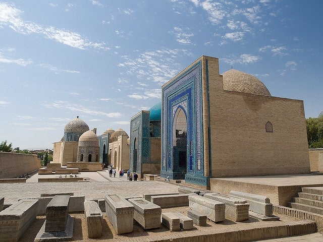 Necrópolis de Shah-i-Zinda en Samarkanda