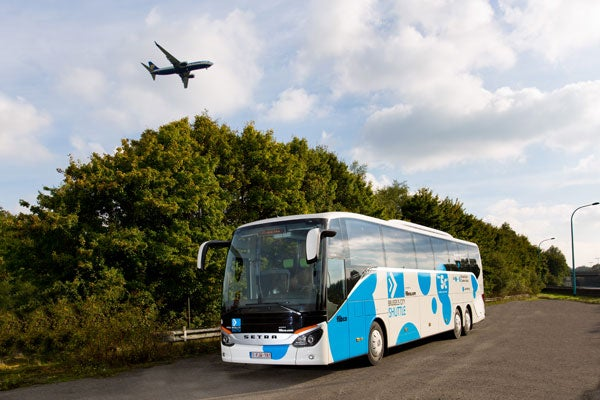 Shuttle bus desde el aeropuerto de Charleroi