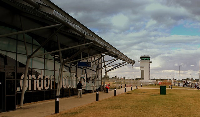 southend airport en Londres
