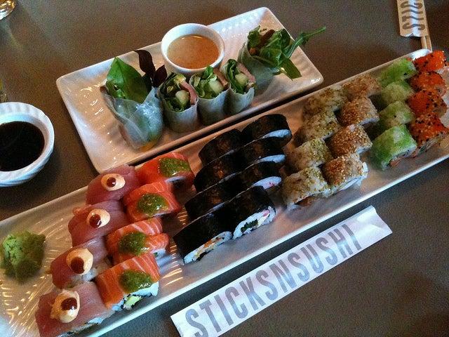 Sticks'N'Sushi, para comer sushi en Londres
