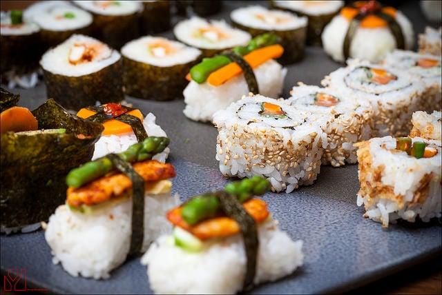 Sushi, uno de los platos típicos de Japón