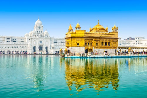 Templo Dorado de Amritsar en la India
