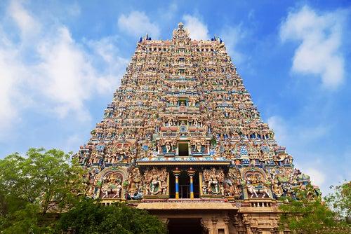 Templo de Meenakshi Amman en la India