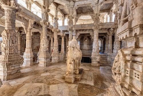Templo de Ranakpur en la India