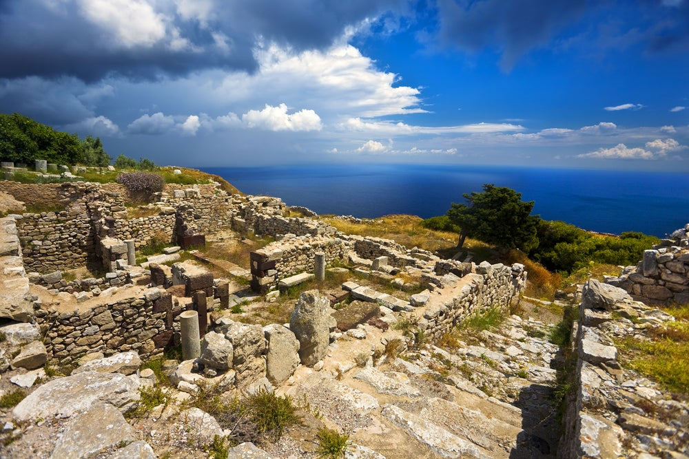Thera en Santorini