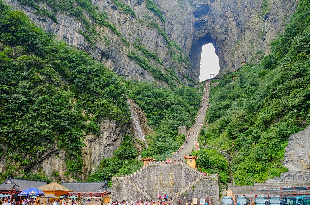 Puerta al Cielo en China