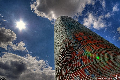Torre Agbar en Barcelona