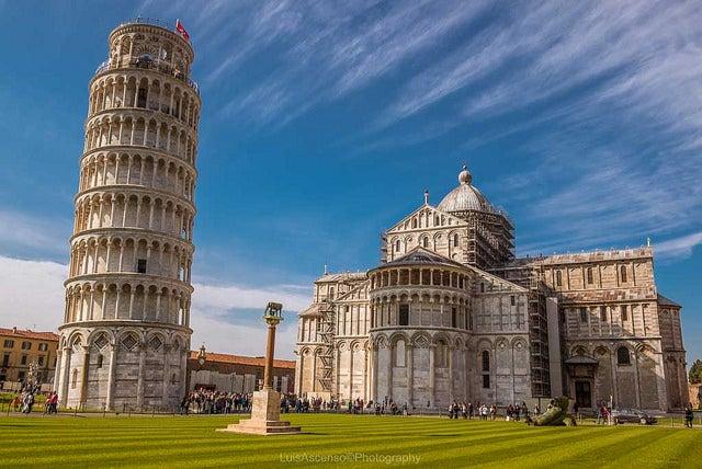 Dónde puedes comer cerca de la torre de Pisa