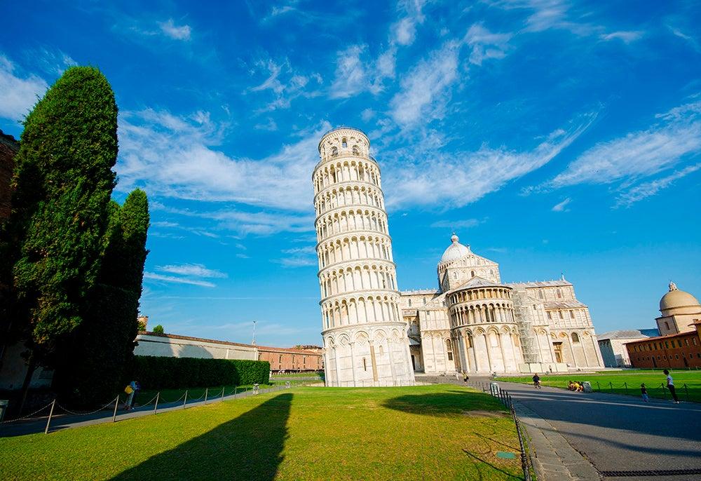 Torre de Pisa en la Toscana