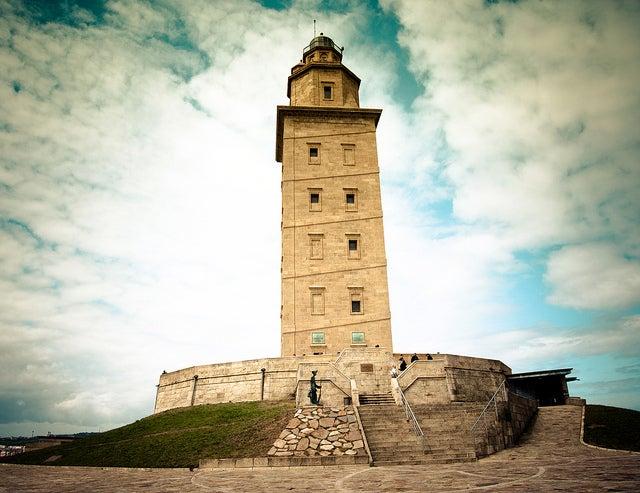 Mapa de Galicia: Torre de Hércules